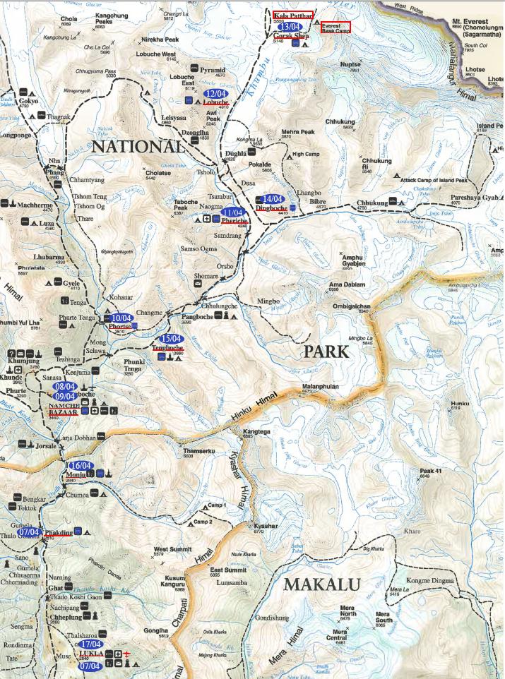 Overview Nepal Kumbu