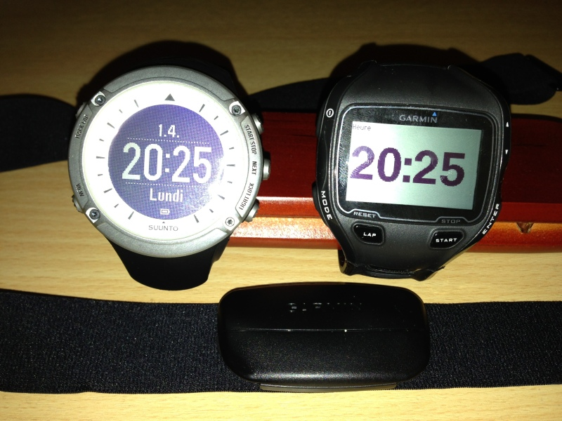 Sunto Ambit vs. Garmin 910XT