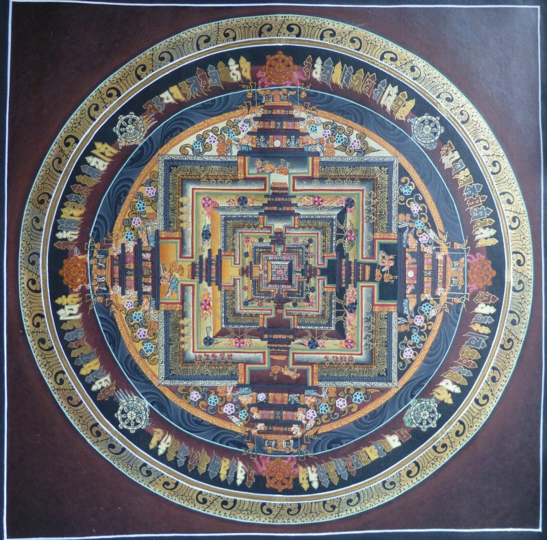 Kalachakra Thangka Mandala