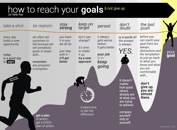How To Reach Your Goal by Neila Rey